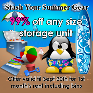 99% off your first month's rent
