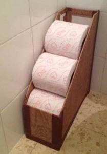 magazine holder for toilet paper
